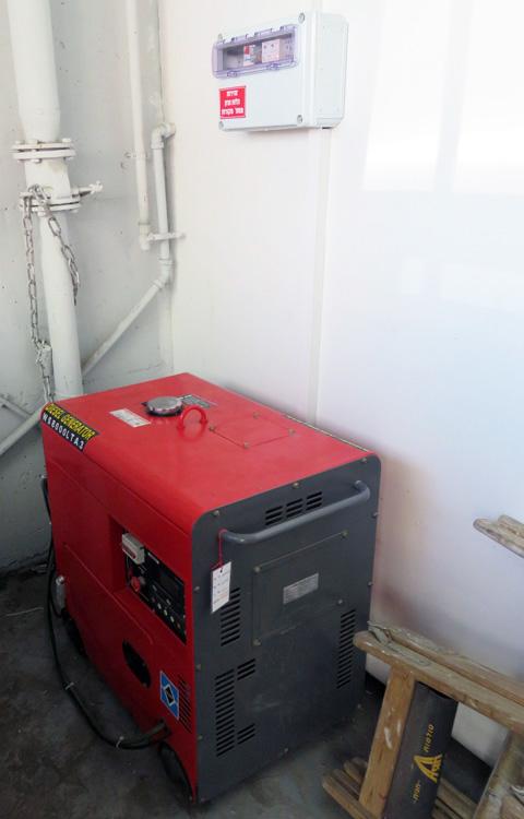 מתקדם גנרטורים דיזל GenTech | מכירת גנרטור דיזל קטן להפעלה אוטומטית YD-73